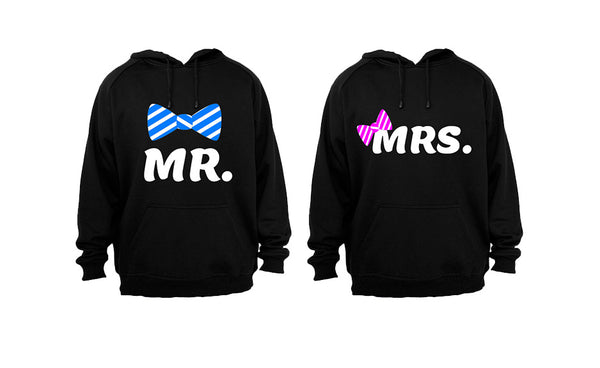 Mr and Mrs - Couples Hoodies (1 Set) - BuyAbility South Africa