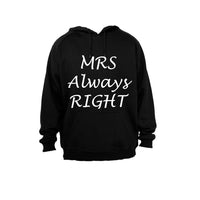 Mrs Always Right - Hoodie - BuyAbility South Africa