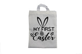 My First Easter - Bunny Ears Design - Easter Bag