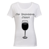 My Drinking Shirt - Wine! BuyAbility SA