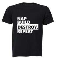 Nap. Build. Destroy. Repeat!