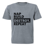 Nap. Build. Destroy. Repeat! - BuyAbility South Africa