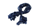 Scarf Print - Anchor - Navy Blue