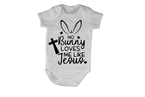 No Bunny Loves Me Like Jesus - Easter - Baby Grow - BuyAbility South Africa