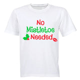 No Mistletoe Needed! - Adults - T-Shirt - BuyAbility South Africa