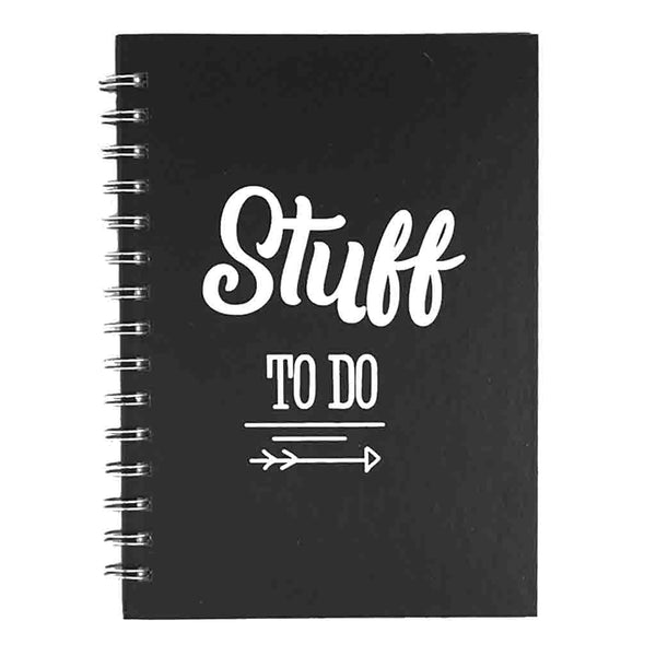 """Stuff To Do"" Notebook"