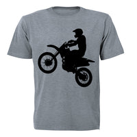 Off Road Biker! - Adults - T-Shirt