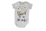 Oh Baby, Glitter Unicorn - Baby Grow - BuyAbility South Africa