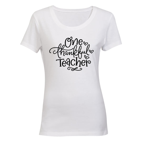 One Thankful Teacher - Ladies - T-Shirt - BuyAbility South Africa