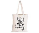 Owl - Eco-Cotton Natural Fibre Bag