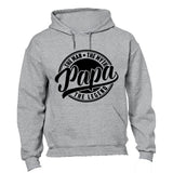 Papa, The Man, Myth, Legend - Hoodie - BuyAbility South Africa