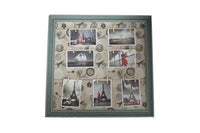 Green Eiffel Tower Inspired Peg Line Photo Frame - BuyAbility South Africa