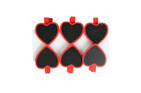 Miniature Pegs with Red Hearts - BuyAbility South Africa