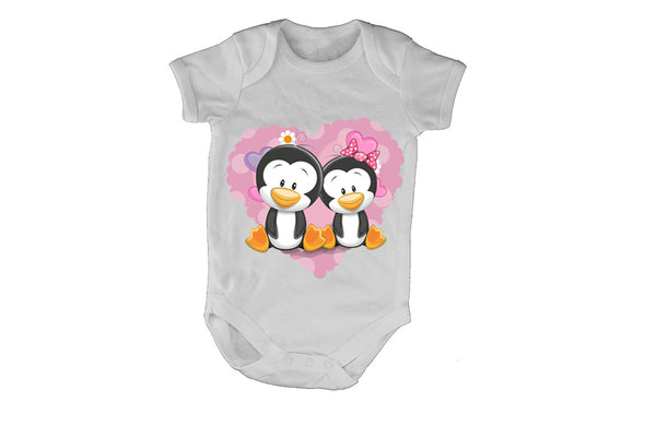 Penguin Valentine Couple - Baby Grow - BuyAbility South Africa