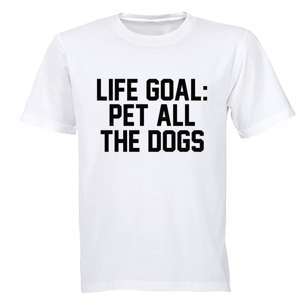 Pet ALL The Dogs - Adults - T-Shirt - BuyAbility South Africa