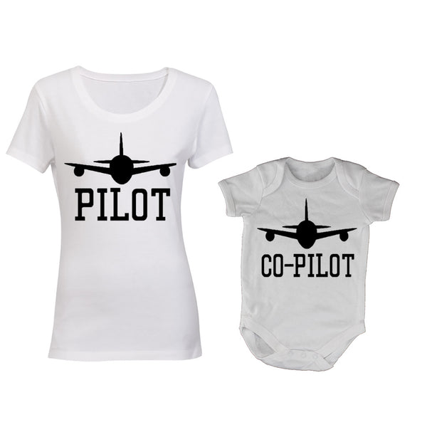 Pilot + Co-Pilot - Mommy | Baby Grow