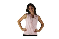 Pink Top with Shoulder Zips - BuyAbility South Africa