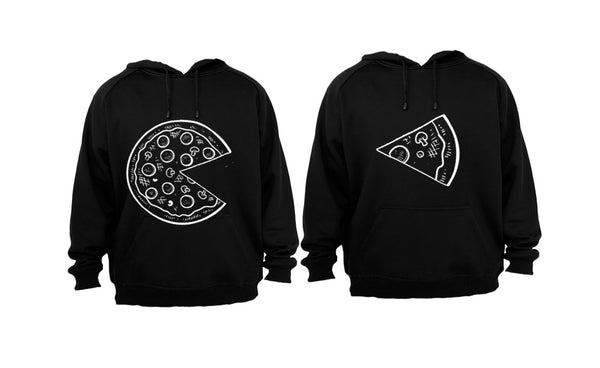 PIZZA - COUPLES HOODIES (1 SET)