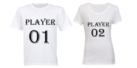 Player 01 & Player 02 - Couples Tees