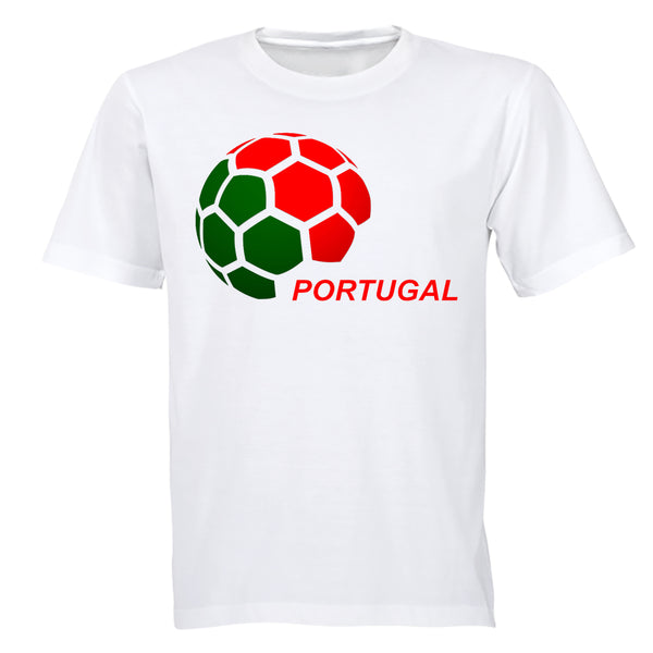 Portugal - Soccer Ball - Adults - T-Shirt - BuyAbility South Africa
