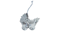 Handmade Silver Pram Christmas Tree Decoration