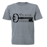 Prayer is the Key - Adults - T-Shirt