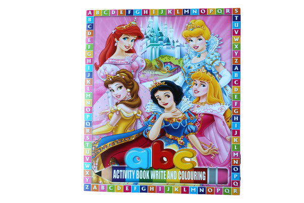 Disney Princesses – ABC Activity Book - BuyAbility South Africa