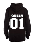 Queen 01! - Hoodie - BuyAbility South Africa