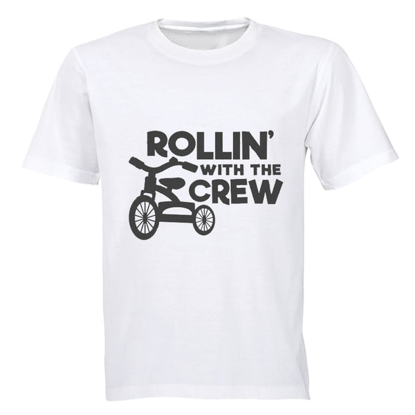 Rollin' With The Crew - Kids T-Shirt