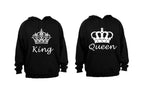 Royalty King & Queen - Couples Hoodies (1 Set) - BuyAbility South Africa