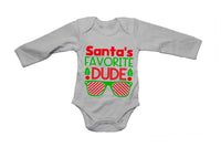 Santa's Favorite Dude - Christmas - Baby Grow - BuyAbility South Africa