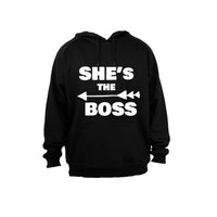 She's the Boss - Hoodie - BuyAbility South Africa