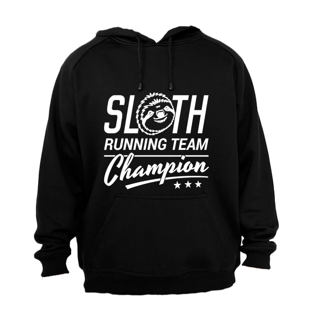 T Shirts Sloth Running Team Hoodie Xl Grey For Sale In South Africa Id 435594507