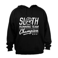 Sloth Running Team - Hoodie - BuyAbility South Africa