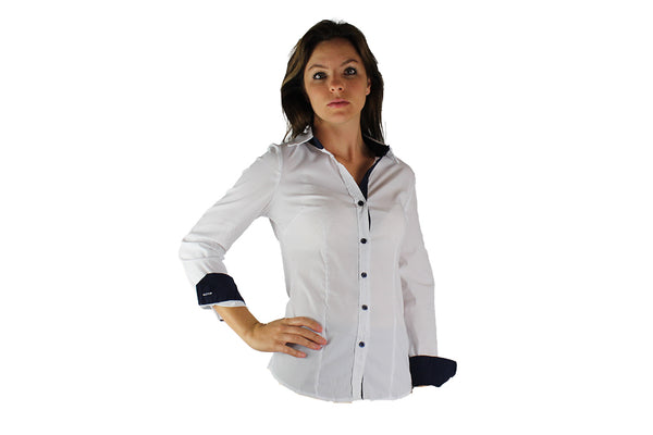 Smart White Button Up Shirt - BuyAbility South Africa