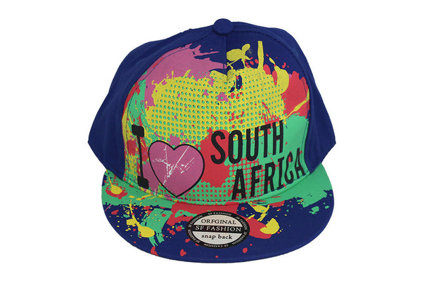I Love South Africa - Cap - Blue