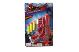 Spiderman Sponge Bullet Toy Gun