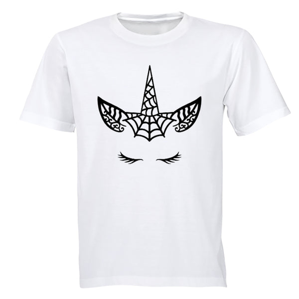 Spiderweb Unicorn - Halloween - Kids T-Shirt - BuyAbility South Africa