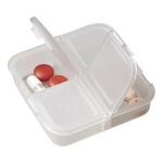 Square 4 Compartment Pill Holder - BuyAbility South Africa