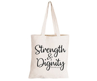 Strength & Dignity - Eco-Cotton Natural Fibre Bag - BuyAbility South Africa