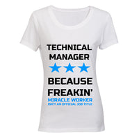 Technical Manager - Because Freakin' Miracle Worker isn't an official Job Title! BuyAbility SA