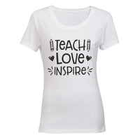 Teach. Love. Inspire - Inspired by Teachers!