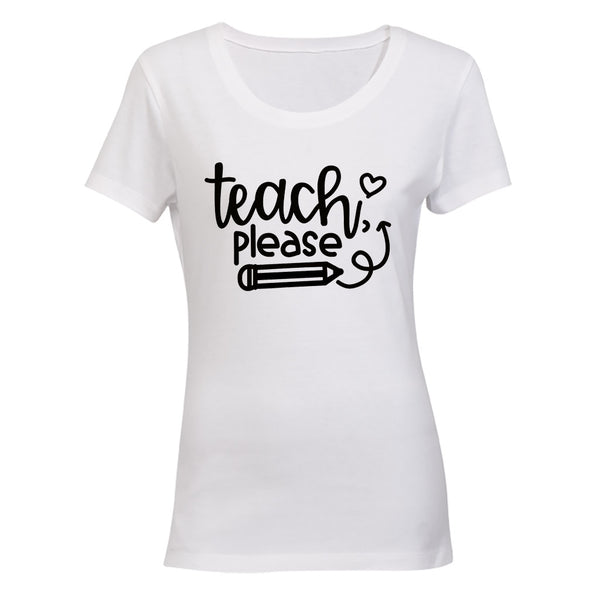 Teach Please - Ladies - T-Shirt - BuyAbility South Africa