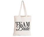 Team Bride - Eco-Cotton Natural Fibre Bag