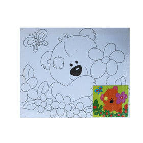 Teddy Bear – Canvas Painting Activity - BuyAbility South Africa
