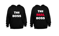 The Boss - The REAL Boss - COUPLES HOODIES (1 SET)