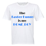 The Easter Bunny is my Home_Boy - Kids T-Shirt - BuyAbility South Africa