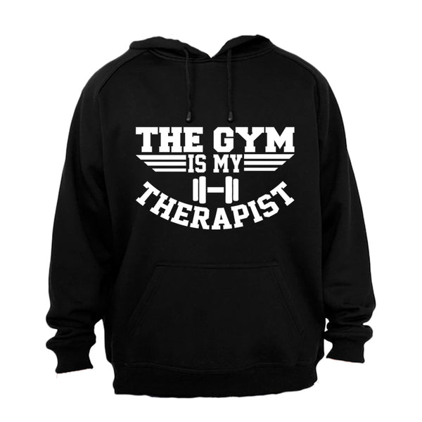 The Gym is my Therapist - Hoodie - BuyAbility South Africa