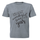 The Most Wonderful Time of the Year - Adults - T-Shirt