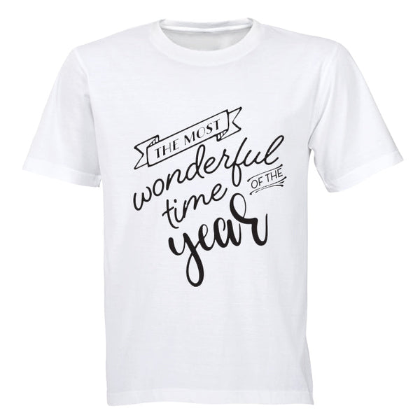 The Most Wonderful Time of the Year - Kids T-Shirt